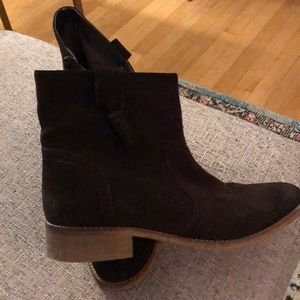 Crevo Brown Suede Boots Size 10